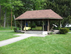 Gazebo at the park